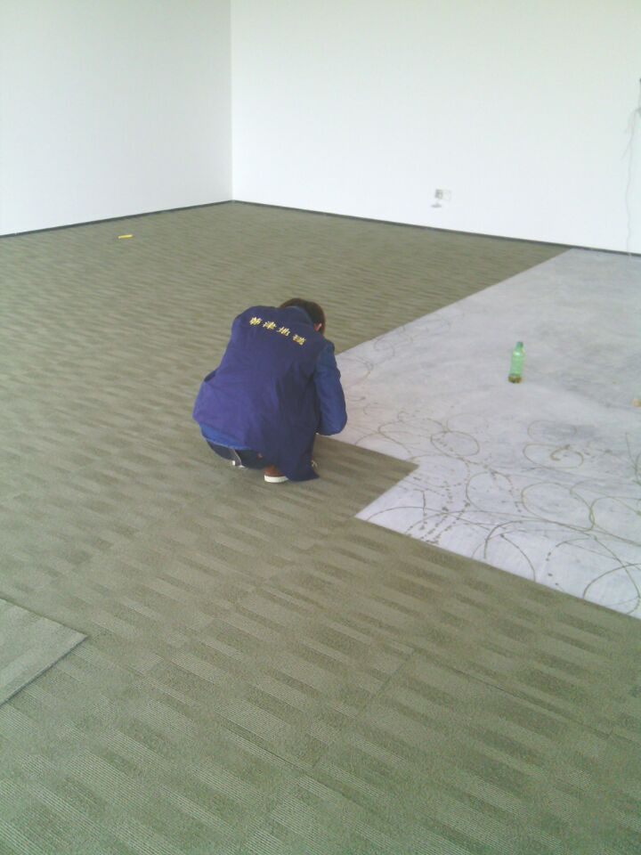 Newly renovated office building using carpet tiles as flooring. multiple designs to choose from with installation