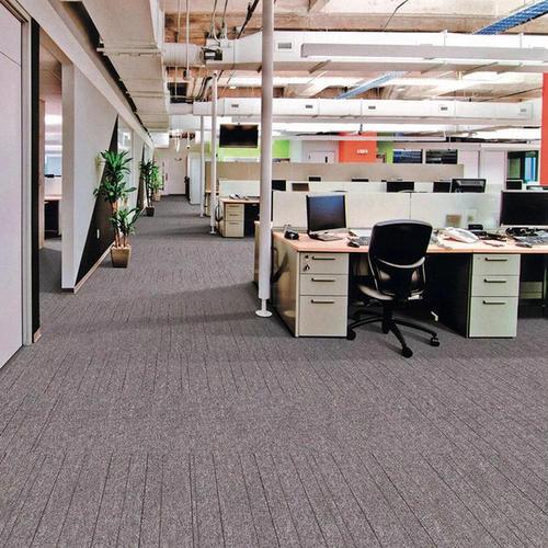 castors, funitures, use carpet tiles instead of carpet rolls in office