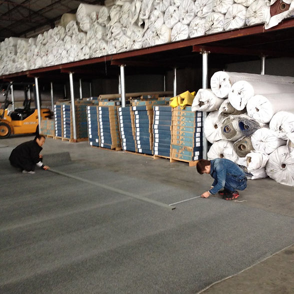 Hanking Carpet Factory, wide range of carpet tiles and flooring to choose from