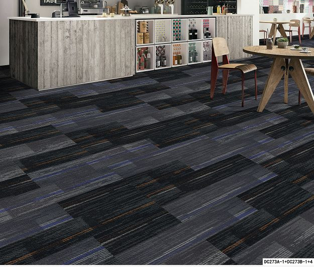 different carpet tile mix and match styles for office