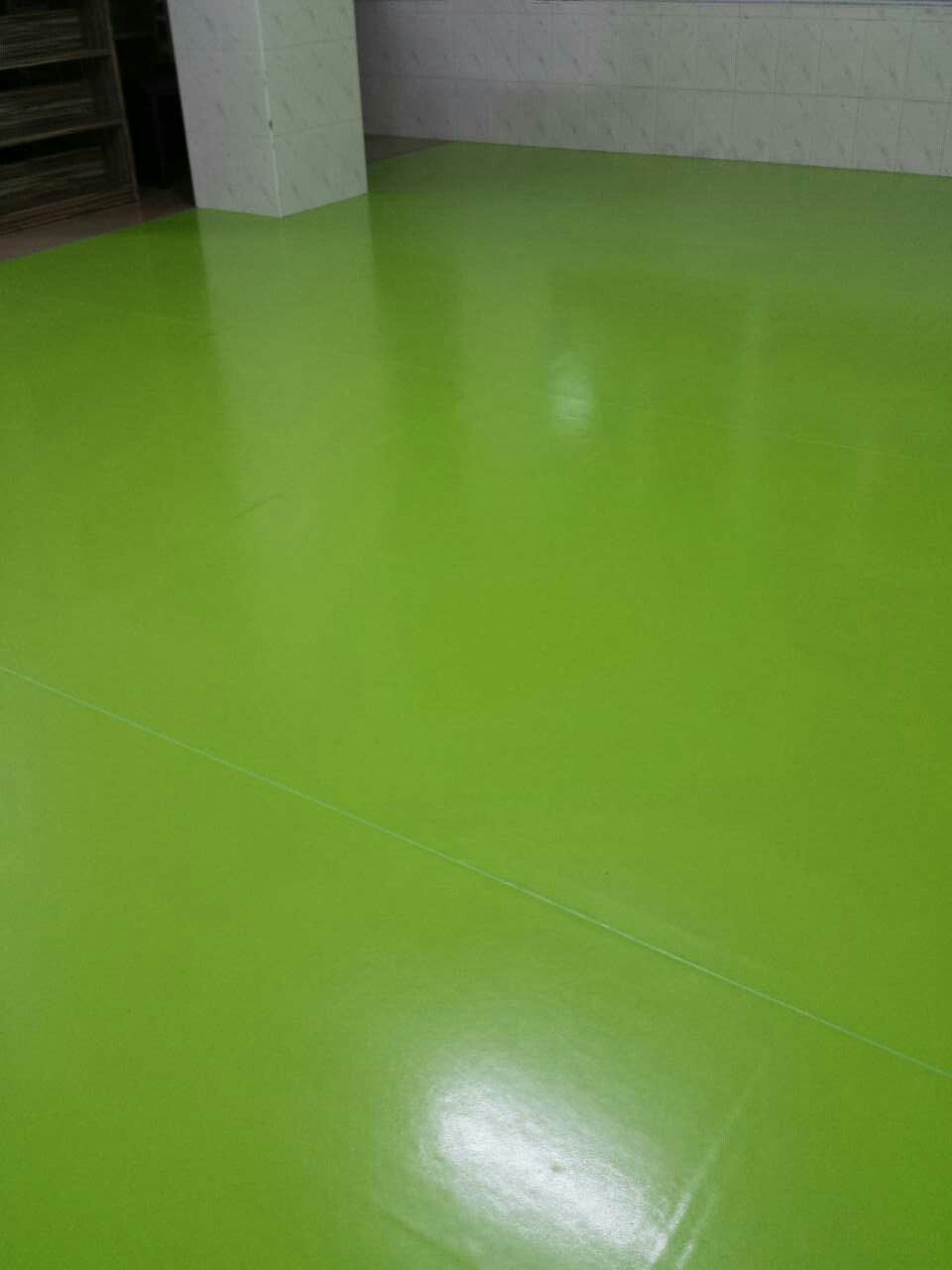 SImilar to Vinyl but in sheets. Rubber flooring, used in sports venues,dance studios, hospitals and kindergartends.
