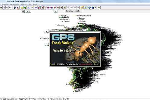 Waypoints - Brasil (Formato GPX)