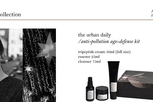 Skin Regimen /anti-pollution age-defense moisturizer/ Kit