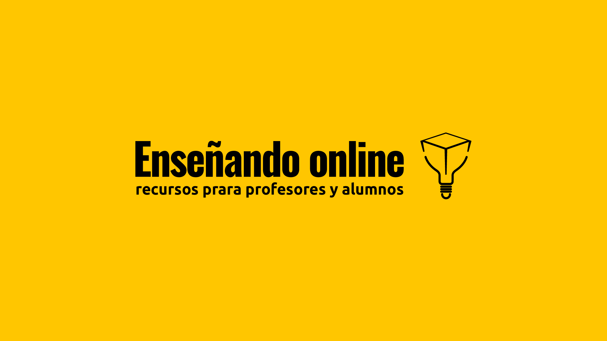 logotipo Enseñando online