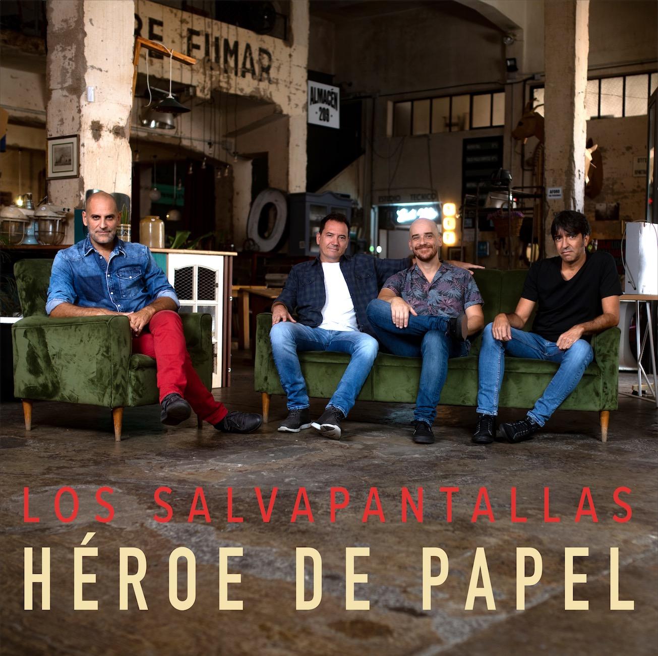 Carátula Héroe de papel - Los Salvapantallas