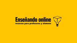 Logo enseñando online