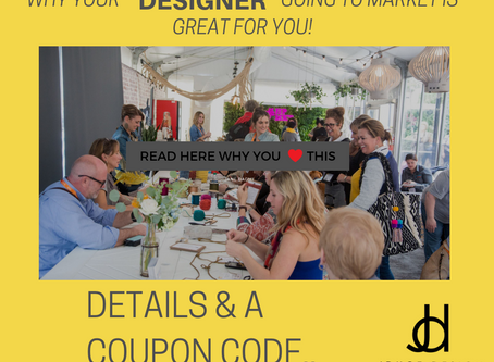 Why your Designer at Market is great for you....