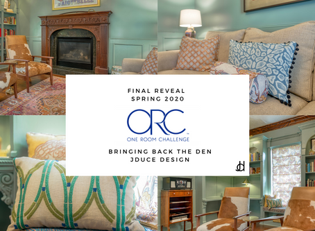 I'm bringing back the Den! My One Room Challenge Reveal - Spring 2020