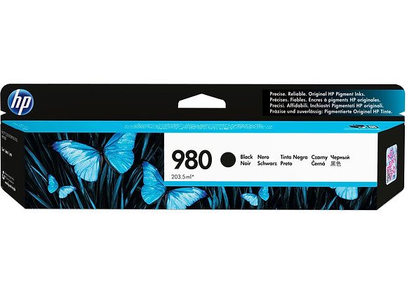 HP 980 Black Original Ink Cartridge, D8J10A