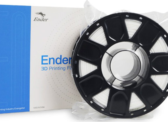 Ender PLA White 3D Printer Filament 1.75mm 1KG Spool