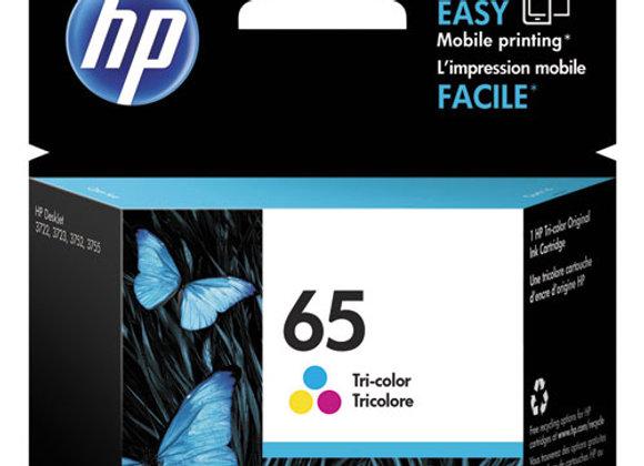 HP 65 - Tri-Color (CYM) - Original - Ink Cartridge (N9K01AN)