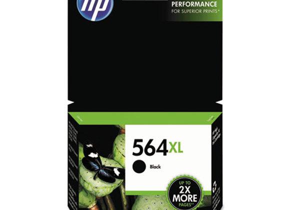 HP 564XL, (CN684WN) High-Yield Black Original Ink Cartridge