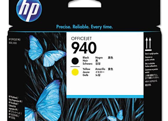 HP 940 Black and Yellow Original Printhead, C4900A