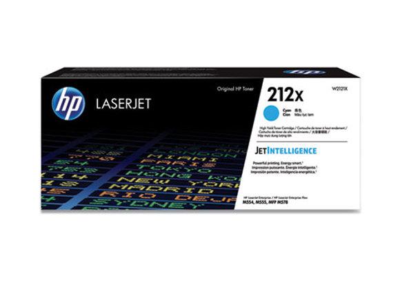 HP 212X – High Yield - Cyan – Original – Laserjet – Toner Cartridge (W2121X)