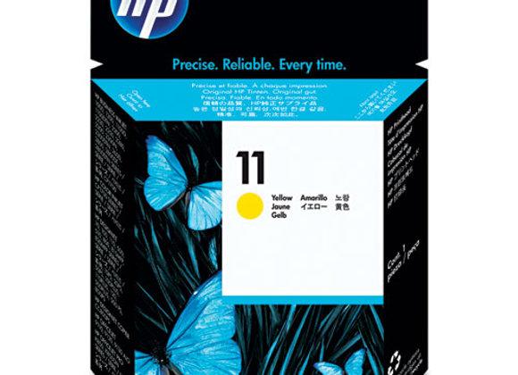 HP 11, (C4813A) Original Yellow Printhead