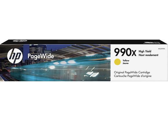 HP 990X High Yield Yellow Original PageWide Cartridge, M0J97AN