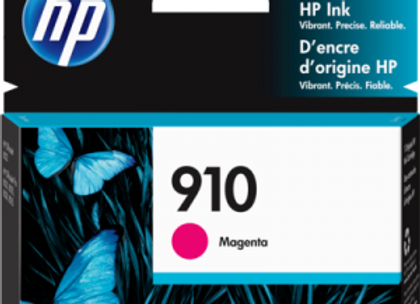 HP 910 Magenta 3YL59AN Genuine Ink Cartridge Standard Yield