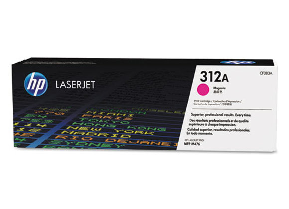 HP 312A - Magenta - Original - Laserjet - Toner Cartridge (CF383A)