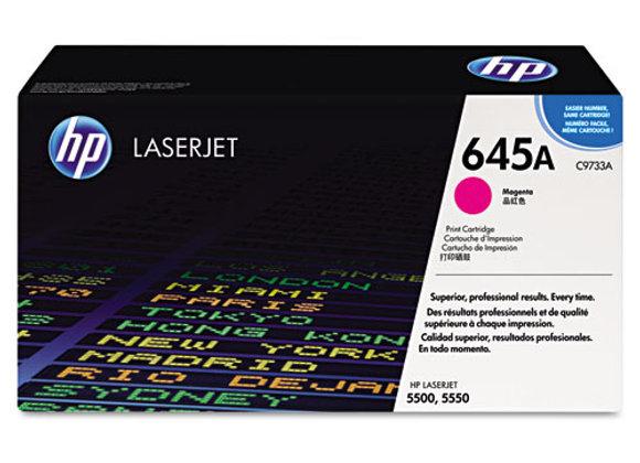 HP 645A, (C9733A) Magenta Original LaserJet Toner Cartridge