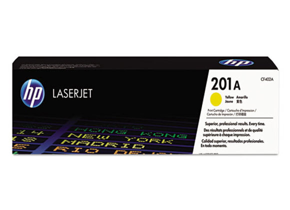 HP 201A Yellow Original LaserJet Toner Cartridge, CF402A