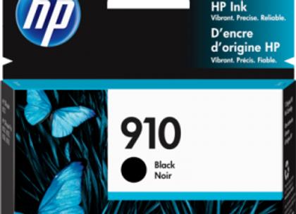 HP 910 Black 3YL61AN Genuine Ink Cartridge Standard Yield