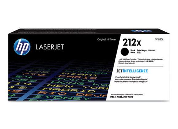 HP 212X – High Yield - Black – Original – Laserjet – Toner Cartridge (W2120X)