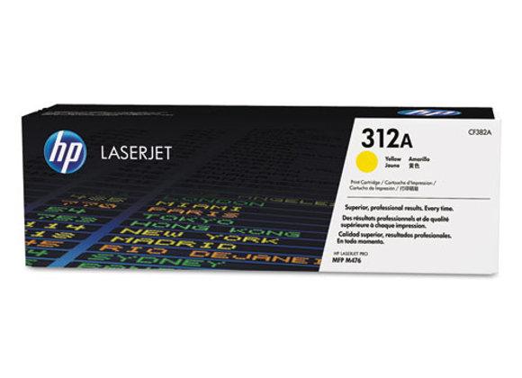 HP 312A - Yellow - Original - Laserjet - Toner Cartridge (CF382A)