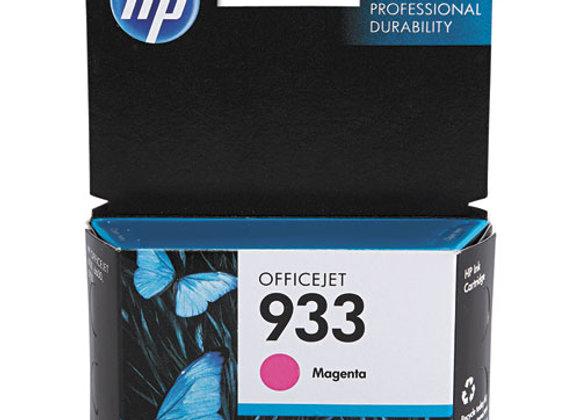 HP 933 Magenta Original Ink Cartridge, CN059AN#140