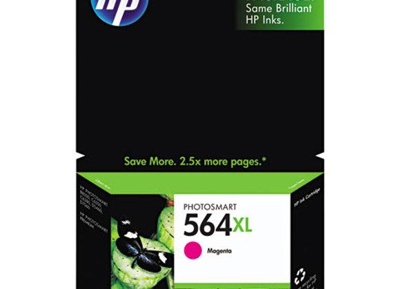 HP 564XL, (CB324WN) High-Yield Magenta Original Ink Cartridge