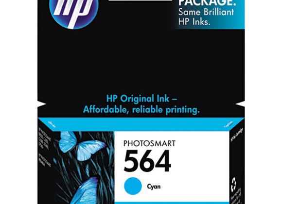 HP 564, (CB318WN) Cyan Original Ink Cartridge