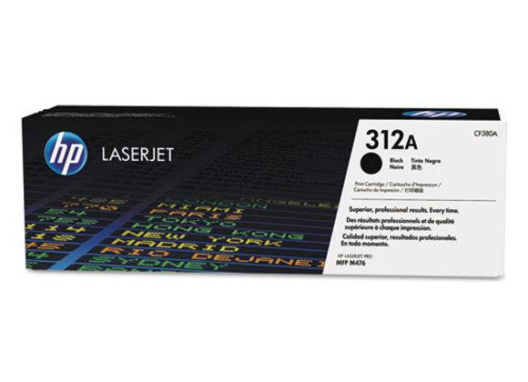 HP 312A - Black - Original - Laserjet - Toner Cartridge (CF380A)