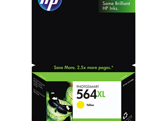 HP 564XL, (CB325WN) High-Yield Yellow Original Ink Cartridge