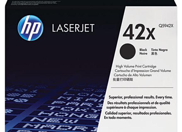 HP 42X High Yield Black Original LaserJet Toner Cartridge, Q5942X