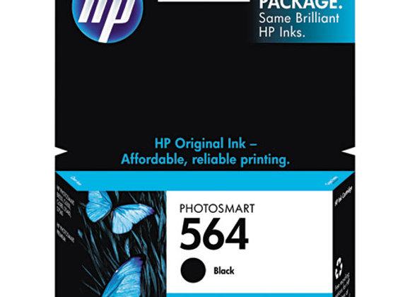 HP 564, (CB316WN) Black Original Ink Cartridge