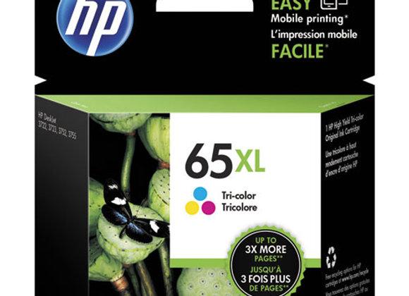 HP 65XL - High Yield - Tri-Color (CYM) - Original - Ink Cartridge (N9K03AN)