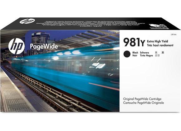 HP 981Y Black Extra High Yield Original PageWide Cartridge (L0R16A)