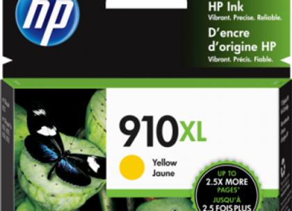 HP 910XL Yellow 3YL64AN Genuine Ink Cartridge High Yield