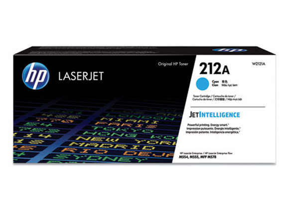 HP 212A – Cyan – Original – Laserjet – Toner Cartridge (W2121A)