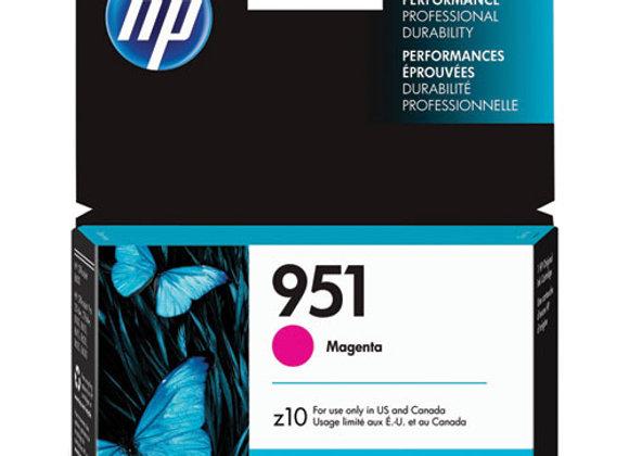 HP 951 Magenta Original Ink Cartridge, CN051AN#140