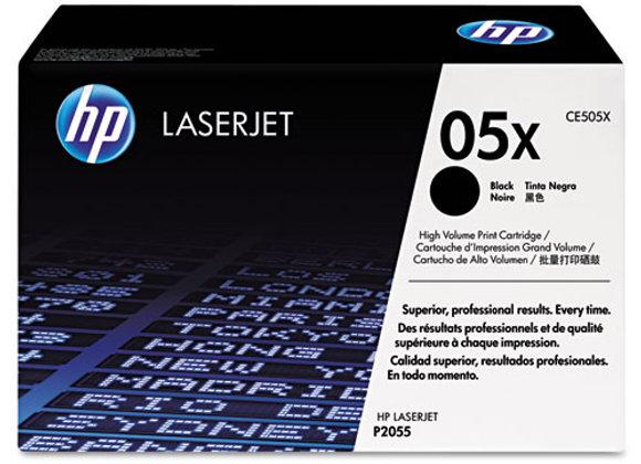 HP 05X, (CE505X) High-Yield Black Original LaserJet Toner Cartridg