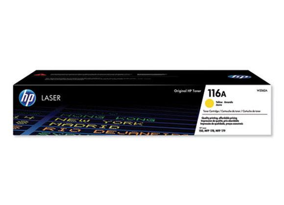 HP 116A, (W2062A) Yellow Original Laser Toner Cartridge
