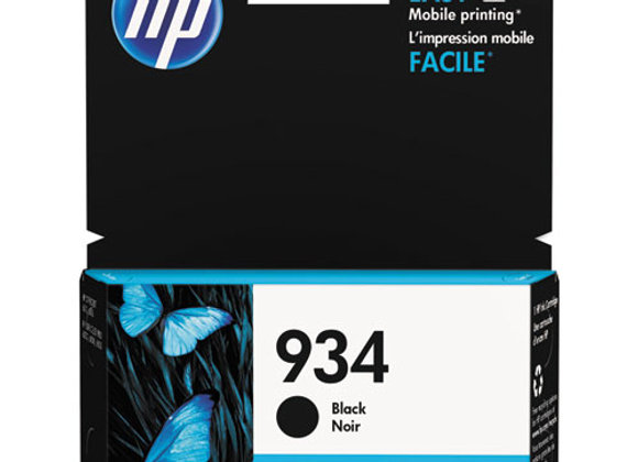 HP 934, (C2P19AN) Black Original Ink Cartridge