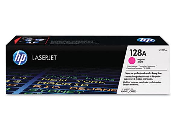 HP 128A Magenta Original LaserJet Toner Cartridge, CE323A