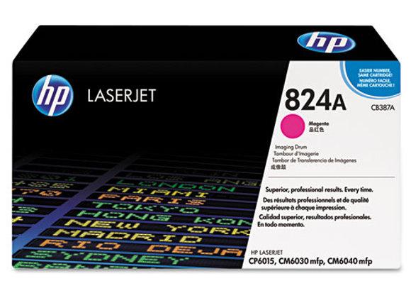 HP 824A Magenta LaserJet Image Drum, CB387A