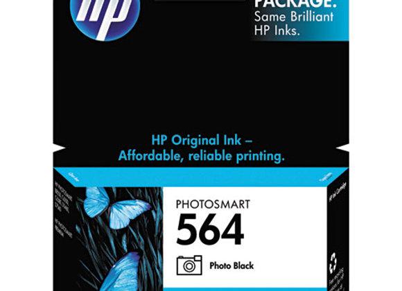 HP 564, (CB317WN) Photo Black Original Ink Cartridge