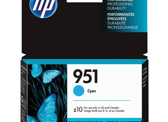 HP 951 Cyan Original Ink Cartridge, CN050AN#140