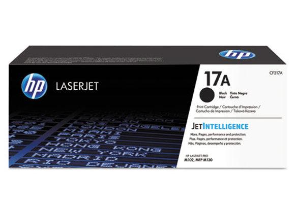 HP 17A Black Original LaserJet Toner Cartridge, CF217A