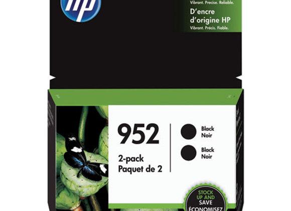 HP 952, (3YP21AN) 2-Pack Black Original Ink Cartridge