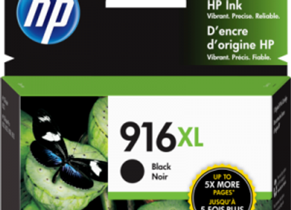 HP 916XL Black 3YL66AN Genuine Ink Cartridge XL High Yield