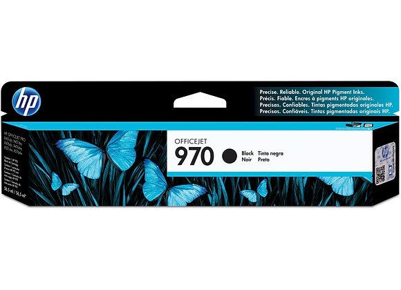 HP 970 Black Original Ink Cartridge, CN621AM